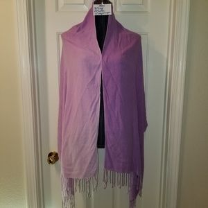 #264 Preowned Ombre Lilac Shawl frm Nordstrom